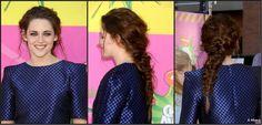 Messy mermaid braid - check out the tutorial! #kristenstewart #welovefashion #fashionfrontrow #seacitizen #seacitizencom #fashion #awards #hair #hairbraids #braids