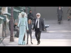 Chanel Haute Couture SS 2019 Finale and Designer salute in Paris Daily Fashion, Fashion Show, Paris Video, Fashion Videos, Karl Lagerfeld, Runway, Spring Summer, Chanel, Haute Couture