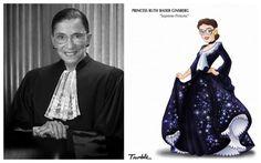Mulheres que fizeram história viram princesas da Disney