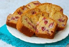 Fresh Strawberry Bread - Simple Nourished Living 5PP