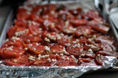 Q: I made a big batch of roasted tomatoes from Andrew Weil's True Food cookbook. I needed only 1/3 cup for one of his recipes. I'm looking for recipes for what to do with the rest. I can freeze some, but do your readers have any other ideas?    Sent by Ellen