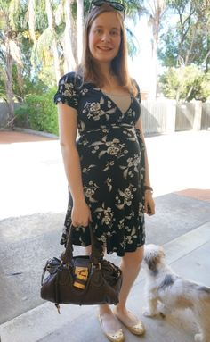 Away From Blue: Corporate Style: Chloe Paddington Bag and Wrap Dre...