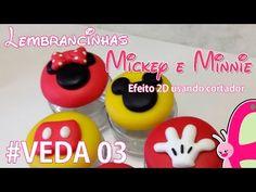 PASSO A PASSO CHAVEIRO MICKEY - YouTube