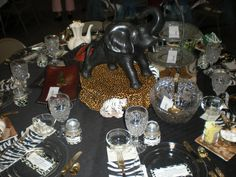 african tableware | The above table was set up by a lady who grew up a missionary kid. The ...