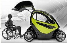 De EQUAL Concept Car – Te besturen vanuit uw rolstoel