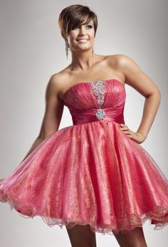 OMG!!! This dress is so pretty! It is sparkly and has nice jeweling! ♥ this