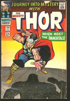 THOR #125 Stan Lee  Jack Kirby 1966 Marvel Comics