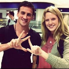 Ryan Lochte throws what he knows KD!