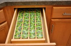 Keurig K-CUP STORAGE ORGANIZSER Insetrt Holds by thewoodcraftsite. Next day shipping, customizable, super friendly seller!