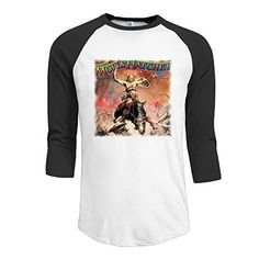 Molly Hatchet Rock Band Mens Baseball Crew Neck Cotton Long Or 34 Sleeve Essential Raglan Tee Shirts * Read more reviews of the product by visiting the link on the image.