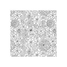 Cover-a-Card Doodle Flowers: Impression Obsession Rubber Stamps (765 RUB) ❤ liked on Polyvore featuring backgrounds, fillers, patterns, pictures, wallpaper, doodles, text, quotes, borders and magazine