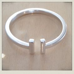 Sterling Silver bangle: By Sam Hughes