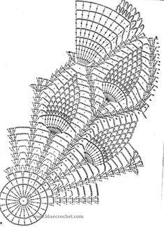 Képtalálat a következőre: How to Read pineapple Crochet Chart Patterns Crochet Tablecloth Pattern, Free Crochet Doily Patterns, Crochet Doily Diagram, Crochet Mandala, Crochet Art, Thread Crochet, Crochet Granny, Filet Crochet, Crochet Motif