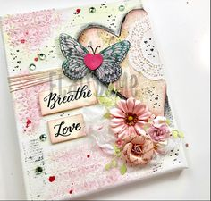 Excited to share the latest addition to my #etsy shop: Mixed Media Artwork  #art #mixedmedia #valentinegift