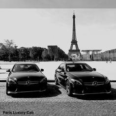 Mercedes Classe C Pack AMG C300 Hybride  Voyagez vert avec Paris Luxury Cab. #paris #Luxury #Cab  #chauffeur #Privé
