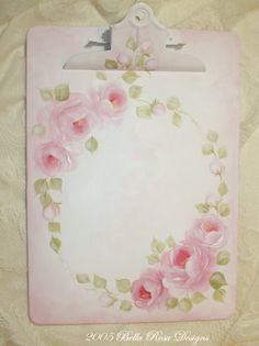 Handpainted Clip Board