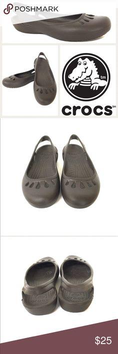 Selling this Crocs Malindi Slingback Flat on Poshmark! My username is: dcgirl04. #shopmycloset #poshmark #fashion #shopping #style #forsale #CROCS #Shoes
