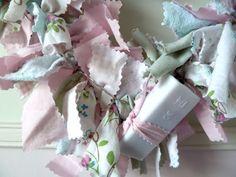 Rag Heart Wreath | Craft me Happy!: Rag Heart Wreath
