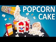 How to Make a Gravity Defying Popcorn Cake (Cooking Fever Cake) from Cookies Cupcakes and Cardio - YouTube