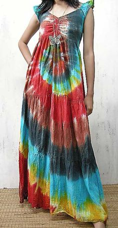 tie dye clothes from seventies