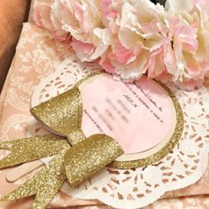 DIY Shabby Chic invitations for baby shower , but can be made for any little…