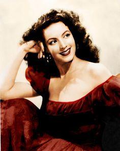 Maria Felix, vintage portrait.