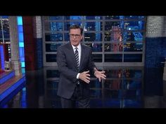 Stephen Colbert takes on Trump's terrible press conference.