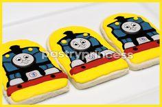 Thomas Train Cookies