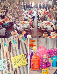 Colorful Mexico Inspired Wedding