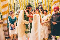Browse photos, outfit & decor ideas & vendors booked from a real South Indian Wedding Intimate & Minimalist wedding in Delhi NCR. Bridesmaid Dresses, Wedding Dresses, Minimalist Wedding, Sari, Indian, Pretty, Archie, Outfits, Fashion