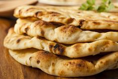 Learn how to make and prepare the recipe for Greek style flatbread with feta, also known as tiganopita me feta.