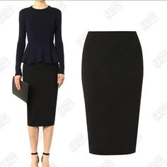 Jupe 6XL 7XL Plus Size Summer Style Cotton High Waist Bodycon Pencil Midi Skirts Women saias femininas Office Maxi Skirt