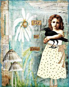 Collage Obsession Challenge - RAVEN (via Bloglovin.com )