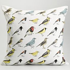 Johannesburg Garden Birds Cushion Cover by MyFavColour on Etsy