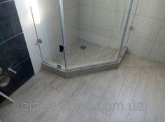 Glass shower Стеклянная душевая перегородка