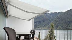 #Tenda a bracci con barra quadra 50X50mm per #Copertura di grandi spazi.