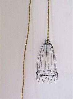 Circus lampshade- a lamp  hanging around a nail.                                                                                                                                                                                 Mehr