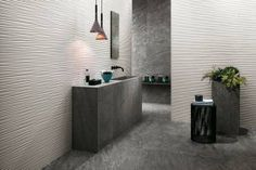 3D Wall Design Flows. Elegant geometries geometric details composed by modern lines and soft undulations
