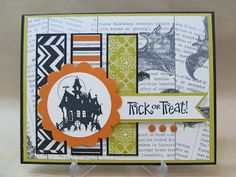 Best of Halloween Card using products by Stampin' Up!. CCMC265