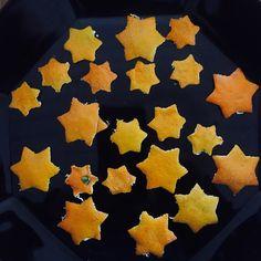 Mandariinitähtiä! #mandariini #mandarin #christmas #star