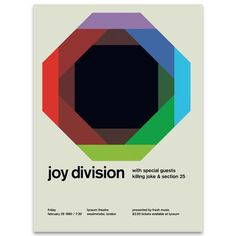 Currently inspired by: Joy Division on Fab.com
