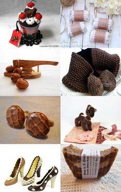 Chocolate goodies by Tatyana Nesterova on Etsy--Pinned with TreasuryPin.com