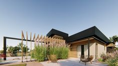Single Family Homes project in MOOLOOLABA, AU designed by ted - Modern Australian house facade Family Homes, Home And Family, Residential Building Design, Australian Homes, Facade House, Single Family, Home Projects, Pergola, Outdoor Structures