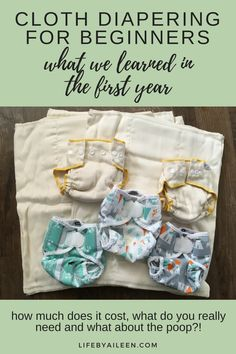 Cloth Diapering for