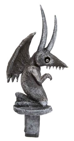 Gargoyle tombstone from The Nightmare Before Christmas