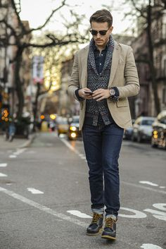 Club Monaco blazer | Life/After/Denim cardigan | Levis shirt | Outfit details at http://iamgalla.com/2014/12/ditto/