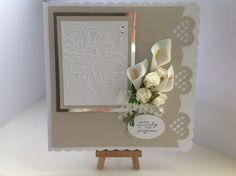 Like using these calla lilly's for sympathy cards!