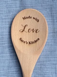 Mother Day from Daughter, Personalized Gift for Mom, Mom from Daughter, Mother Day, Mother's Day Gif Cheap Mothers Day Gifts, Mothers Day Gifts From Daughter, Mother Day Gifts, Wooden Spoon Crafts, Wooden Spoons, Wedding Gifts For Couples, Gift Wedding, Personalized Gifts For Mom, Personalized Wedding