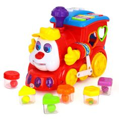 Buy Playking Huile Toys Baby Smart Q & A Cartoon Train On Wheels Smart Cartoon Musical Toy, Battery Powered Learning Center Educational Toys For Children Toddler Car Games, Abc Games For Toddlers, Outdoor Toys For Toddlers, Educational Games For Toddlers, Toddler Boy Toys, Toddler Age, Educational Toys, Kids Toys, Kids Learning