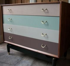 Chest of drawers colour ideas
